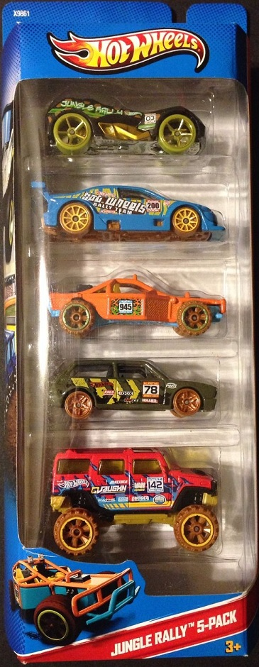 5 Pack 2013 Hot Wheels