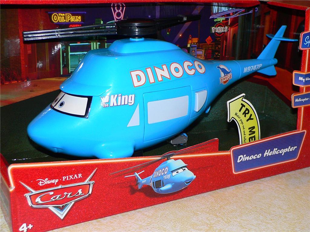 Dan The Pixar Fan Cars Dinoco Helicopter