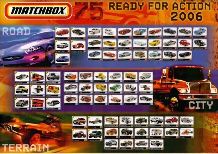 Matchbox 2006 Todos